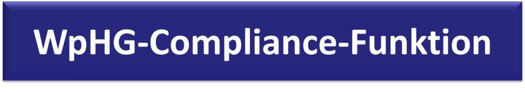 WpHG-Compliance-Funktion
